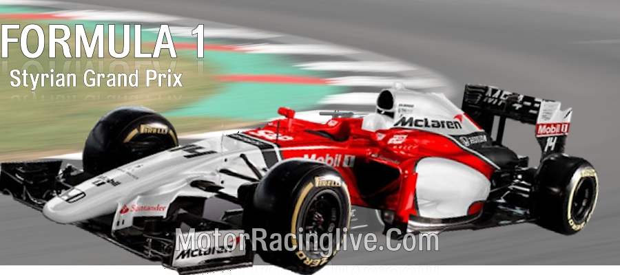 Styrian Formula 1 GP Live Streaming Full Replay