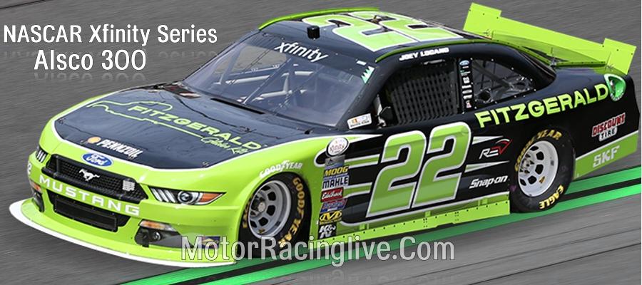 Watch Alsco 300 NASCAR Xfinity Series Live Streaming