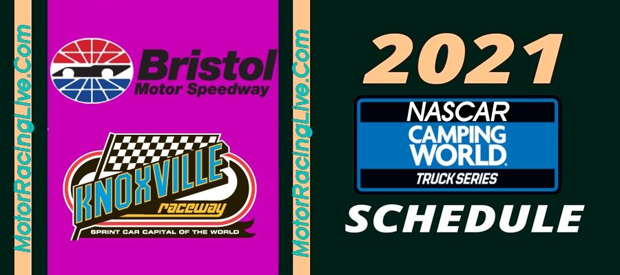 NASCAR Truck Series 2021 Schedule Confirmed
