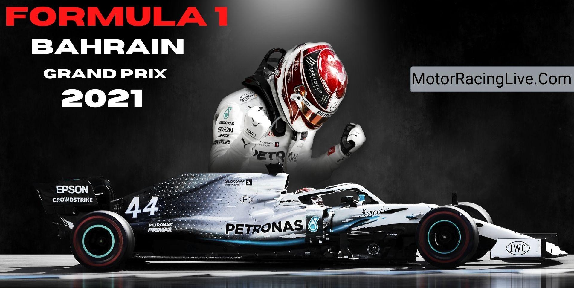 Watch F1 Bahrain Grand Prix Live
