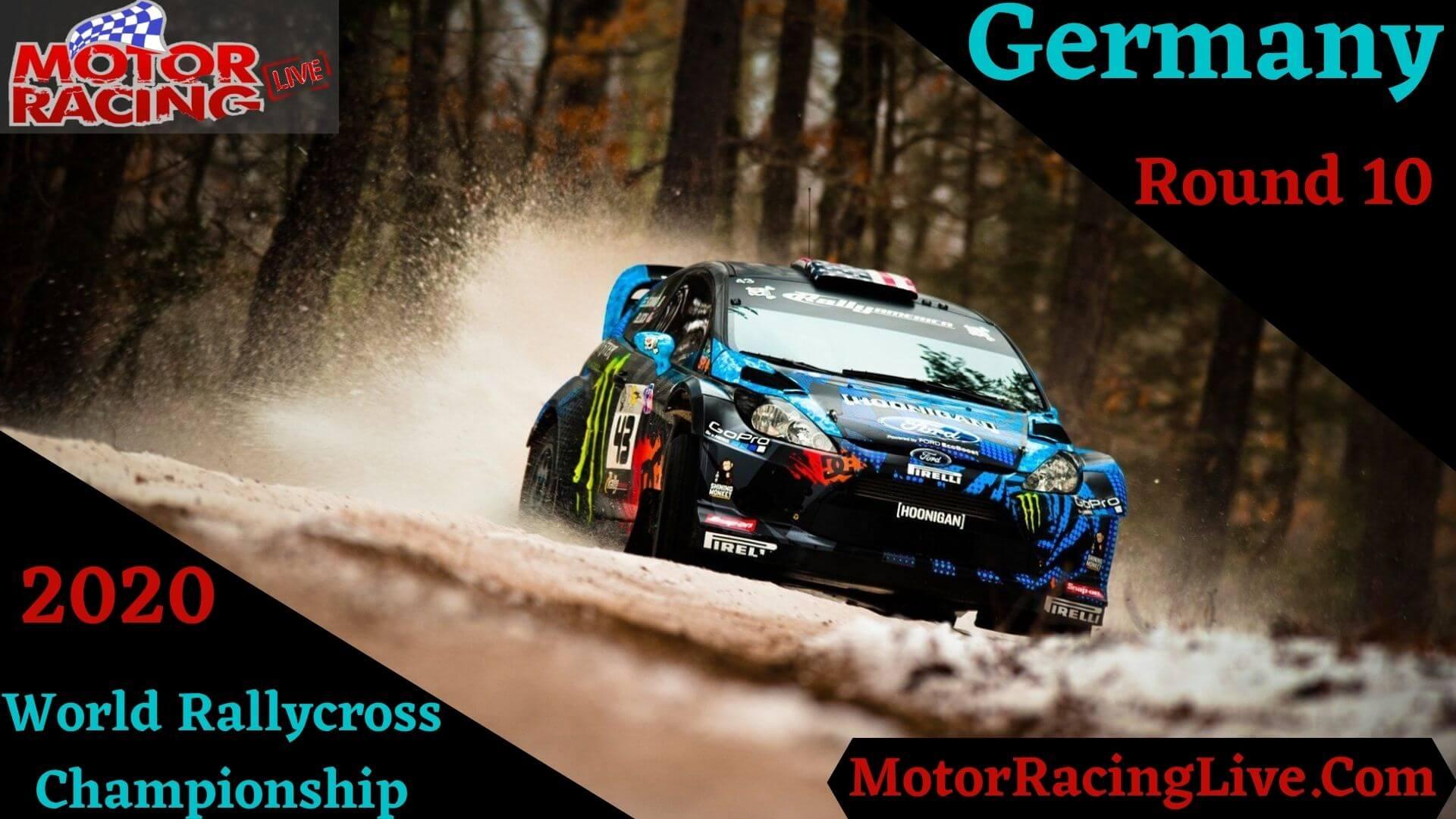 Germany Rd 10 Live Stream 2020 | Rallycross RX