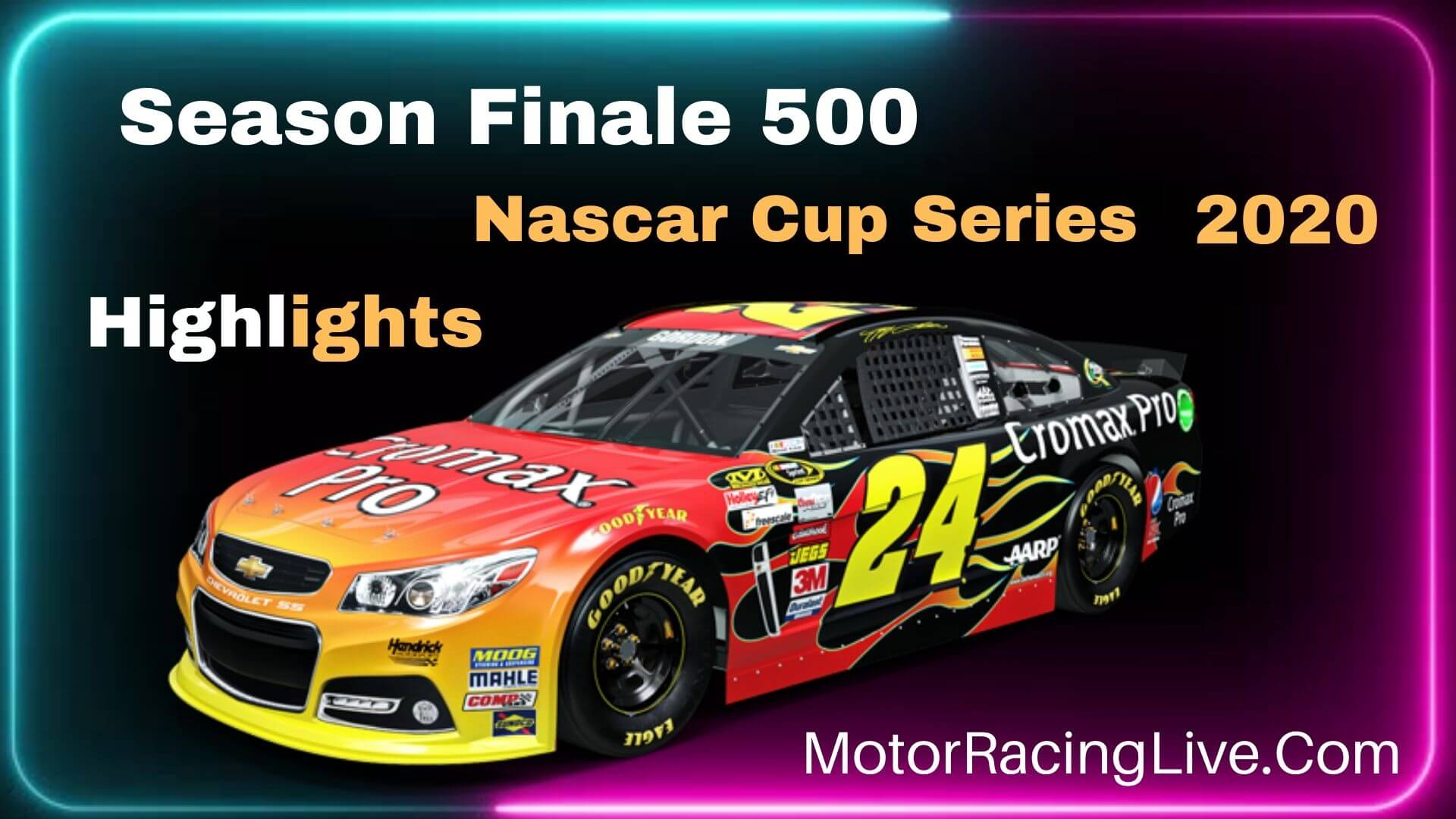Season Finale 500 Highlights Nascar Cup Series 2020