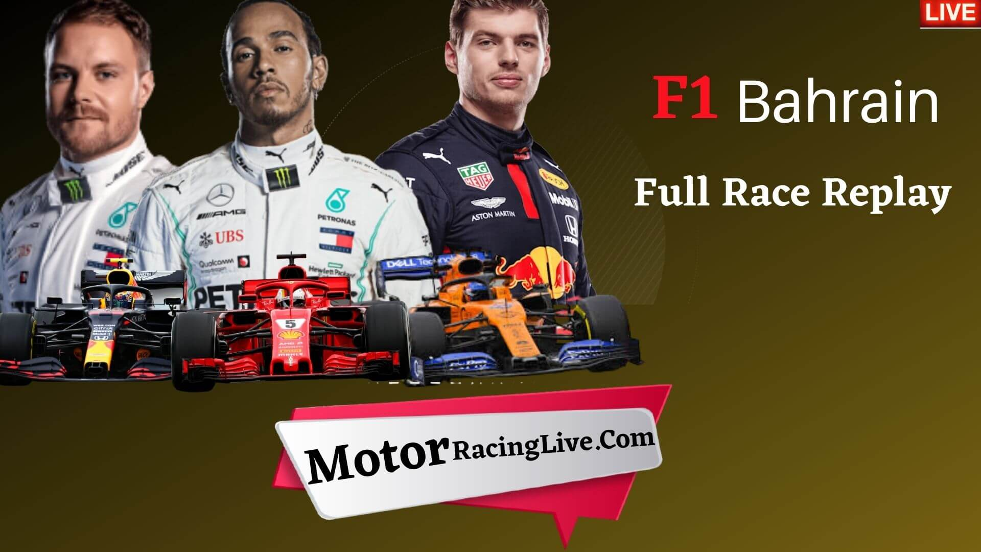 F1 Bahrain Grand Prix Live Stream 2020 | Full Race Replay