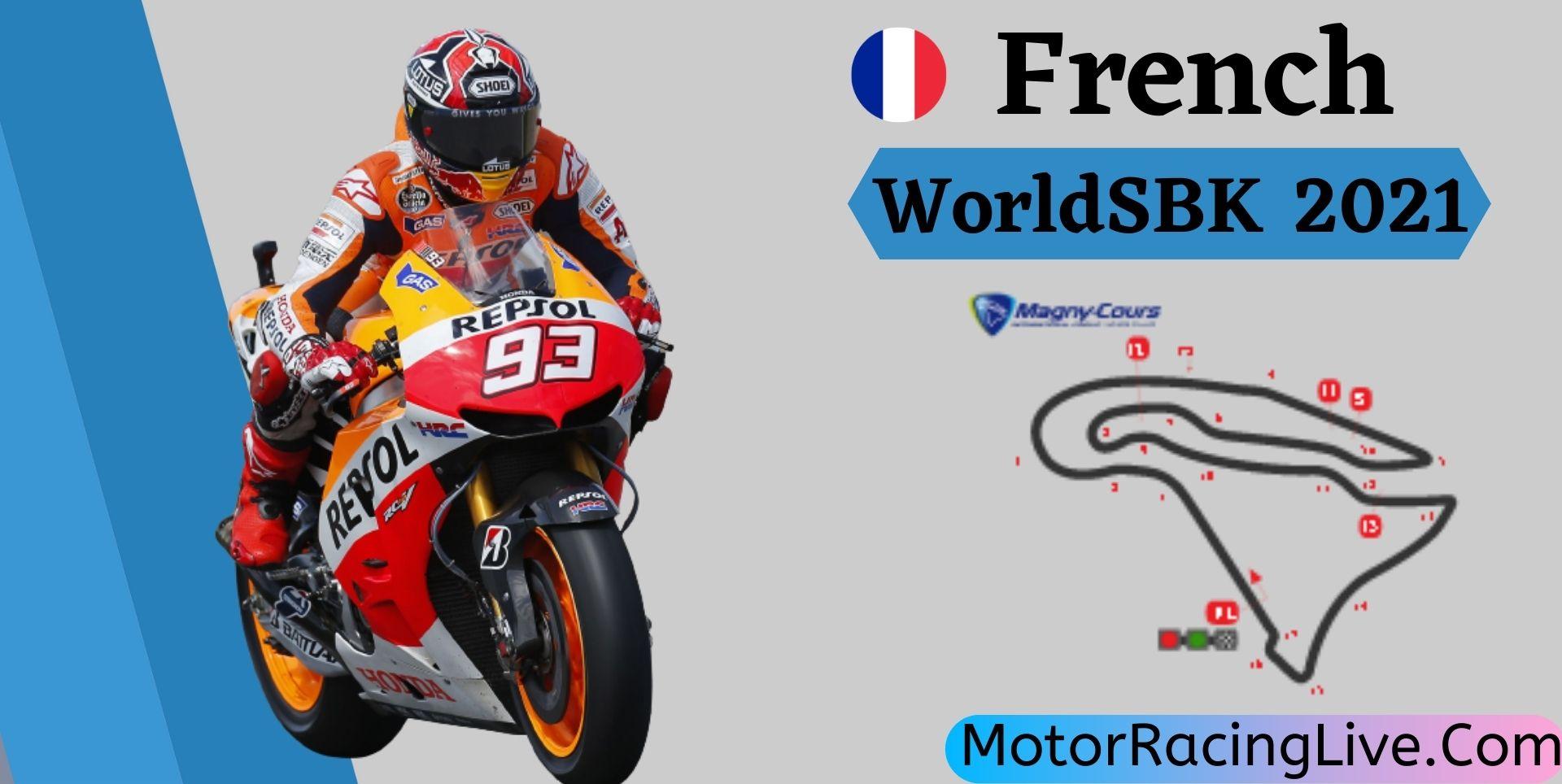 French WorldSBK Live Stream 2021   Round 7