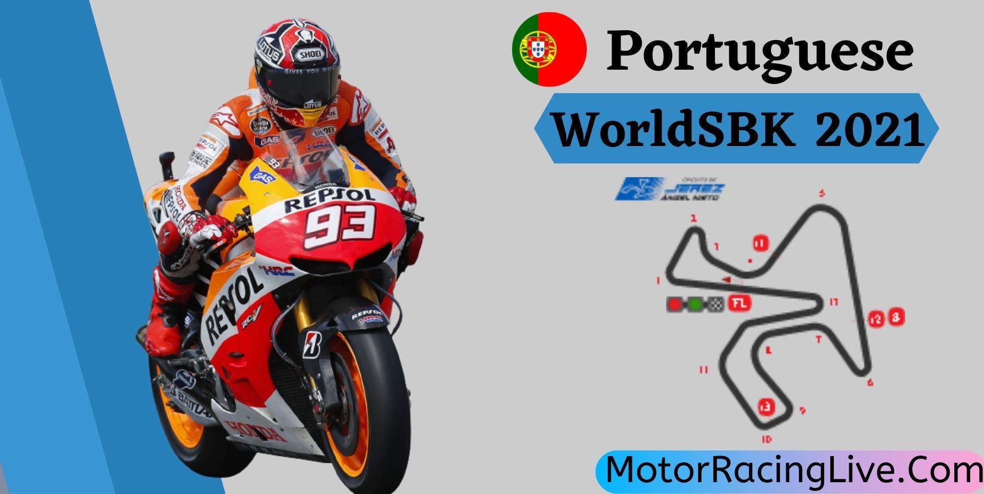 Portuguese WorldSBK Live Stream 2021   Round 10