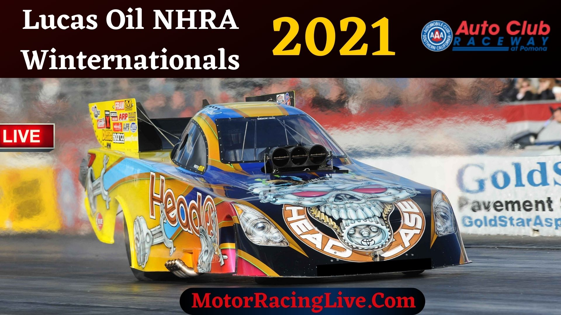 Lucas Oil NHRA Winternationals 2021 Live Stream