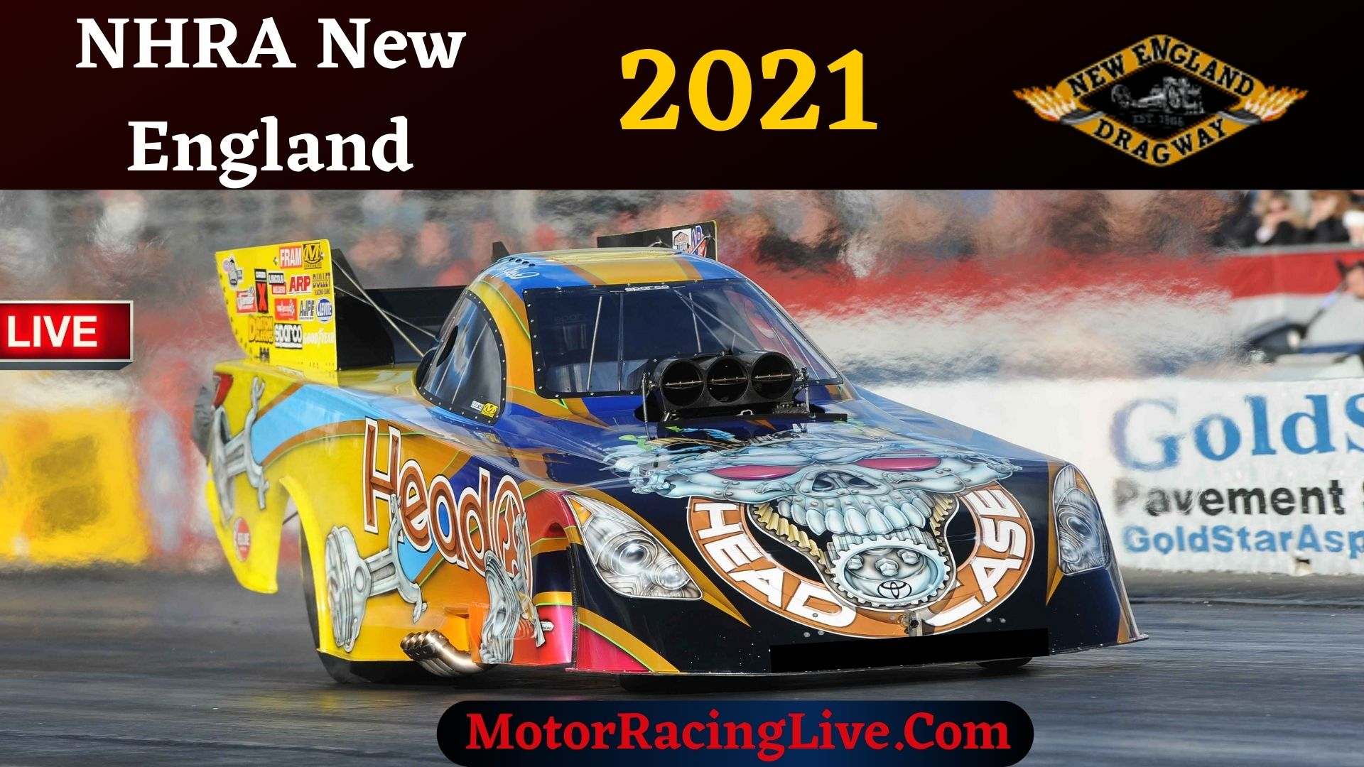 NHRA New England Nationals 2021 Live Stream