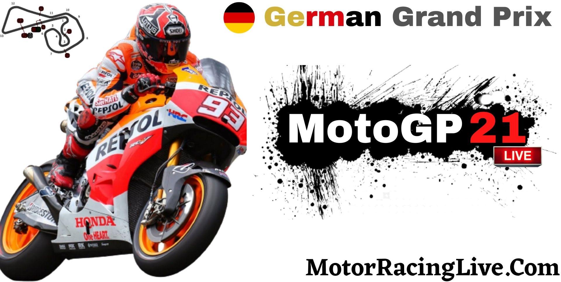 German Grand Prix MotoGP 2021 Live Stream | Full Race Replay