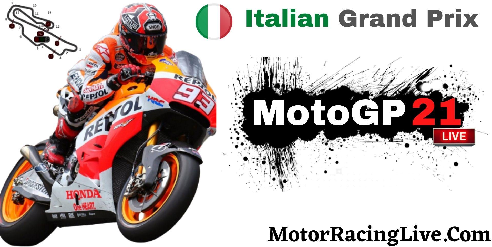 Italian Grand Prix MotoGP 2021 Live Stream | Full Race Replay