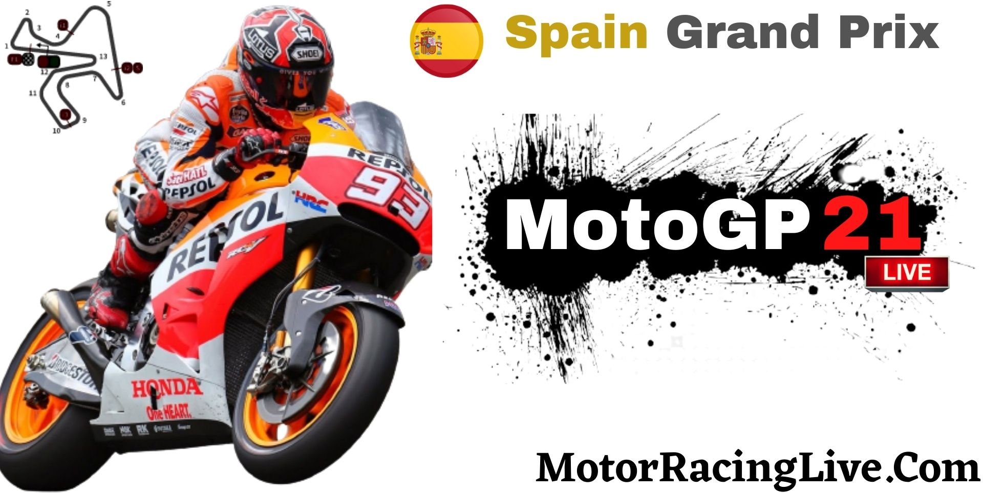 Spain Grand Prix MotoGP 2021 Live Stream | Full Race Replay
