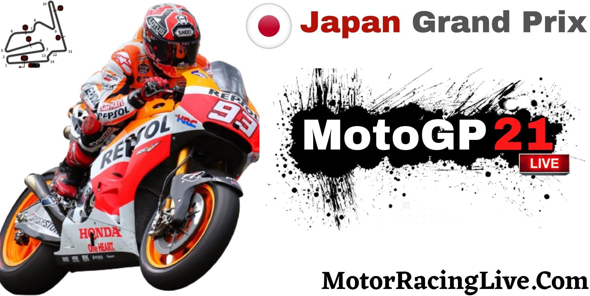 Japan Grand Prix MotoGP 2021 Live Stream | Full Race Replay