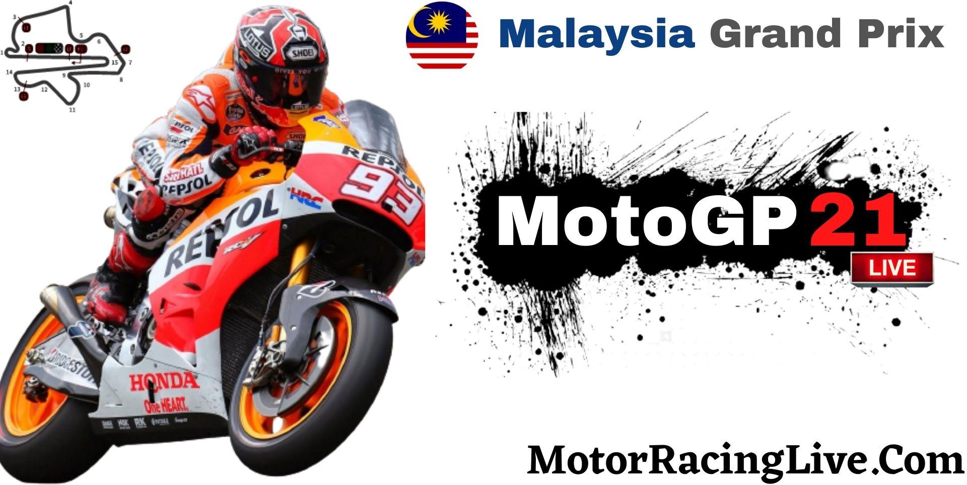 Malaysia Grand Prix MotoGP 2021 Live Stream | Full Race Replay