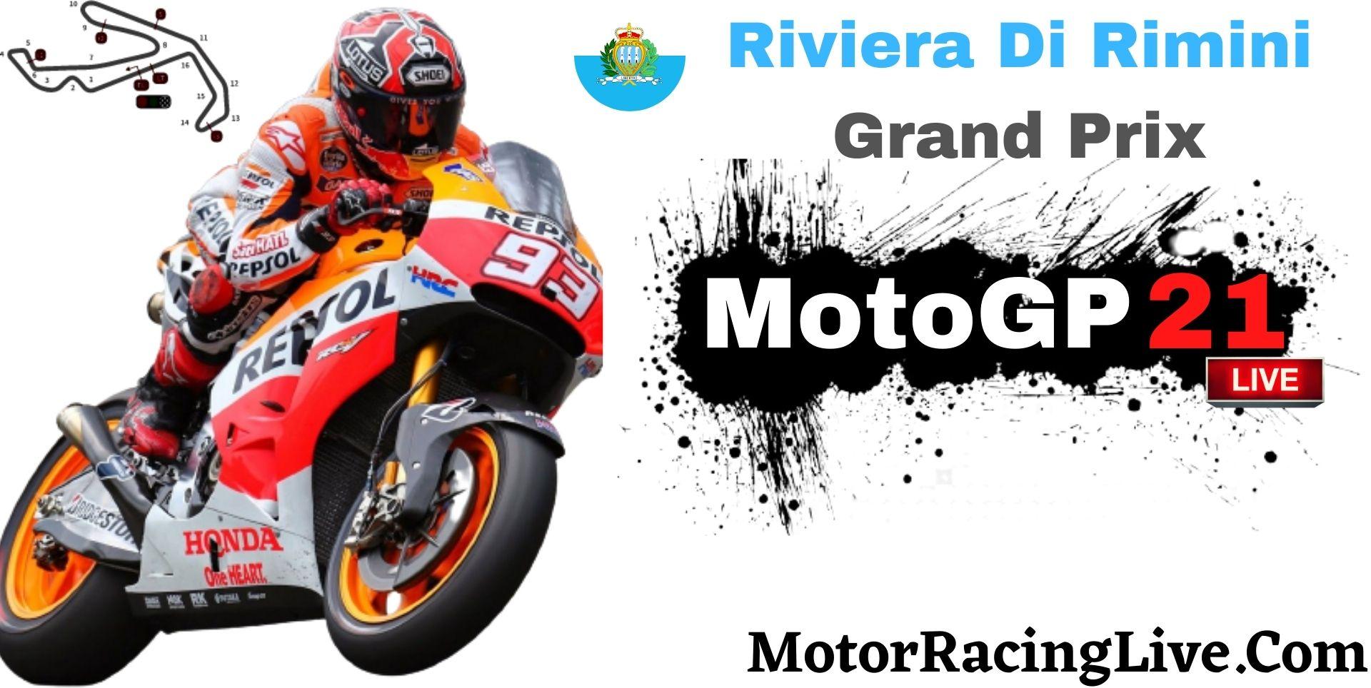 Riviera Di Rimini Grand Prix MotoGP 2021 Live | Full Race Replay
