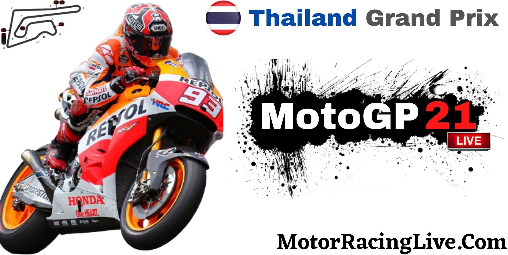 Thailand Grand Prix MotoGP 2021 Live Stream | Full Race Replay