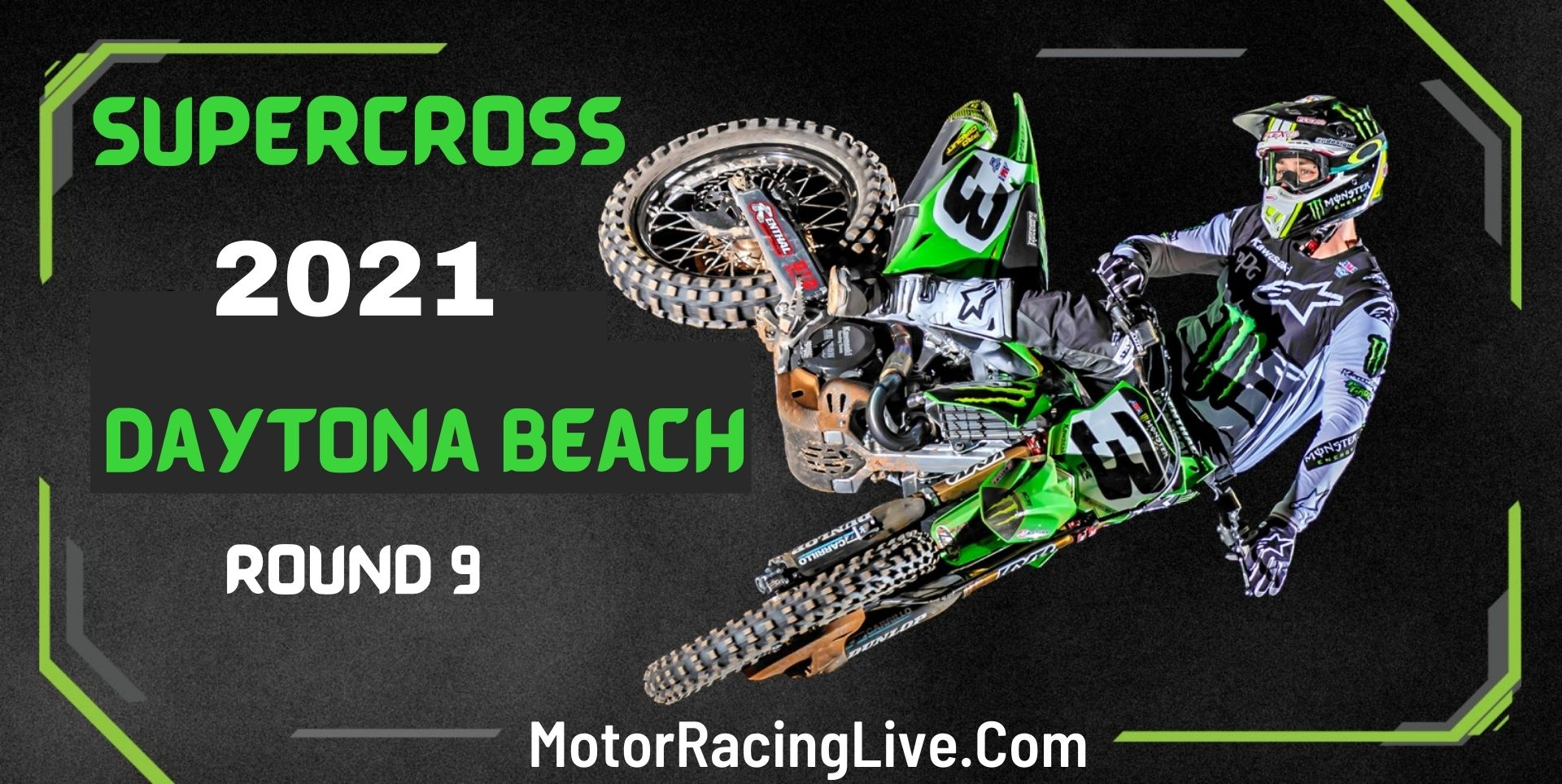 Supercross Daytona Beach Rd 9 Live 6-Mar 2021