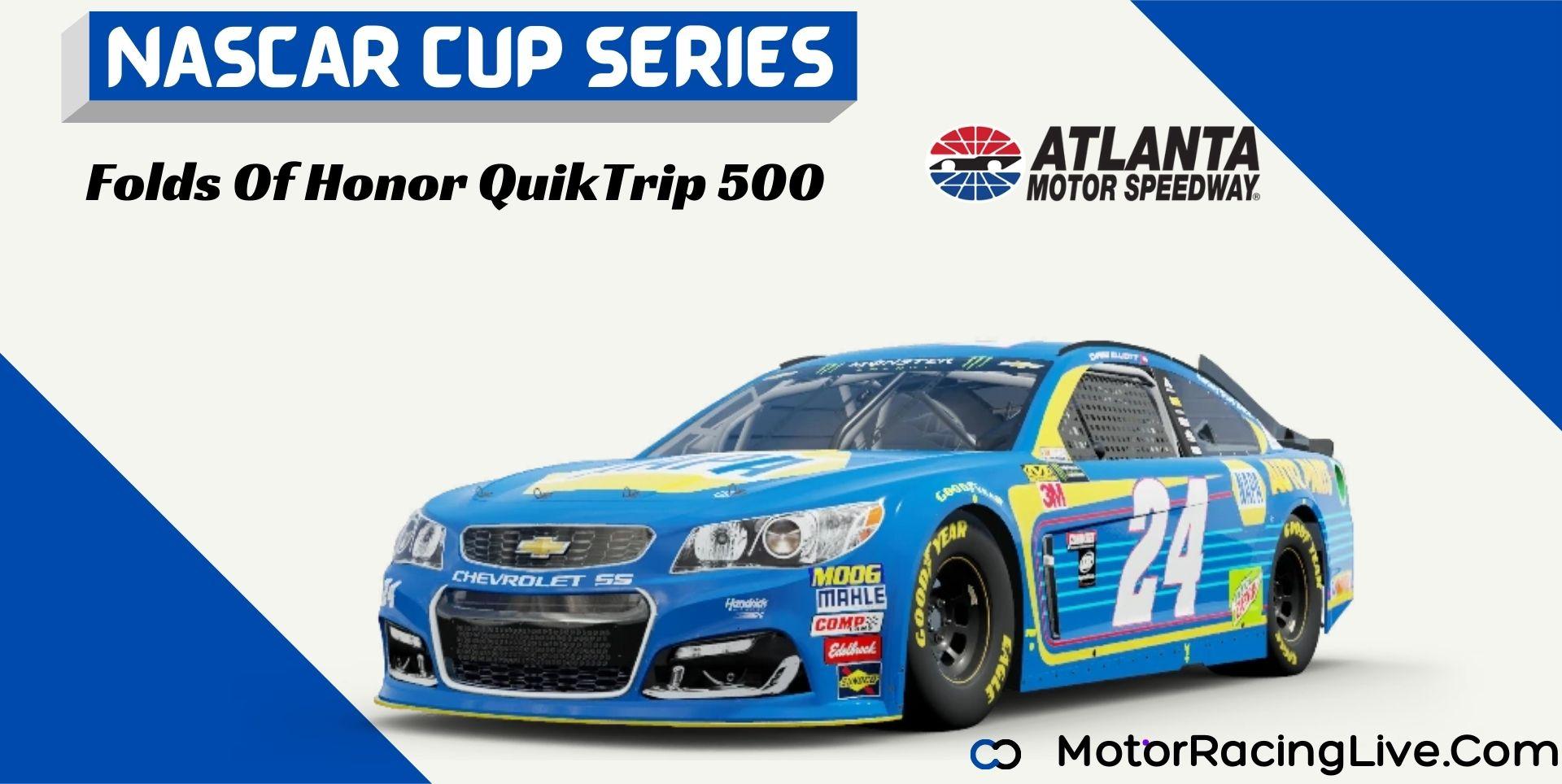 Folds Of Honor QuikTrip 500 Nascar Cup 2021 Live Stream