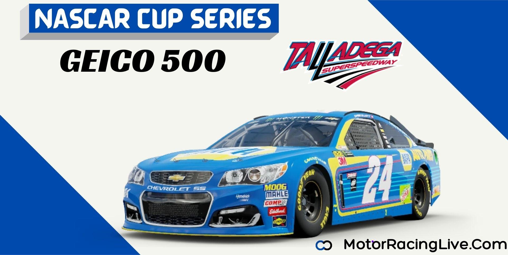 GEICO 500 Nascar Cup 2021 Live Stream