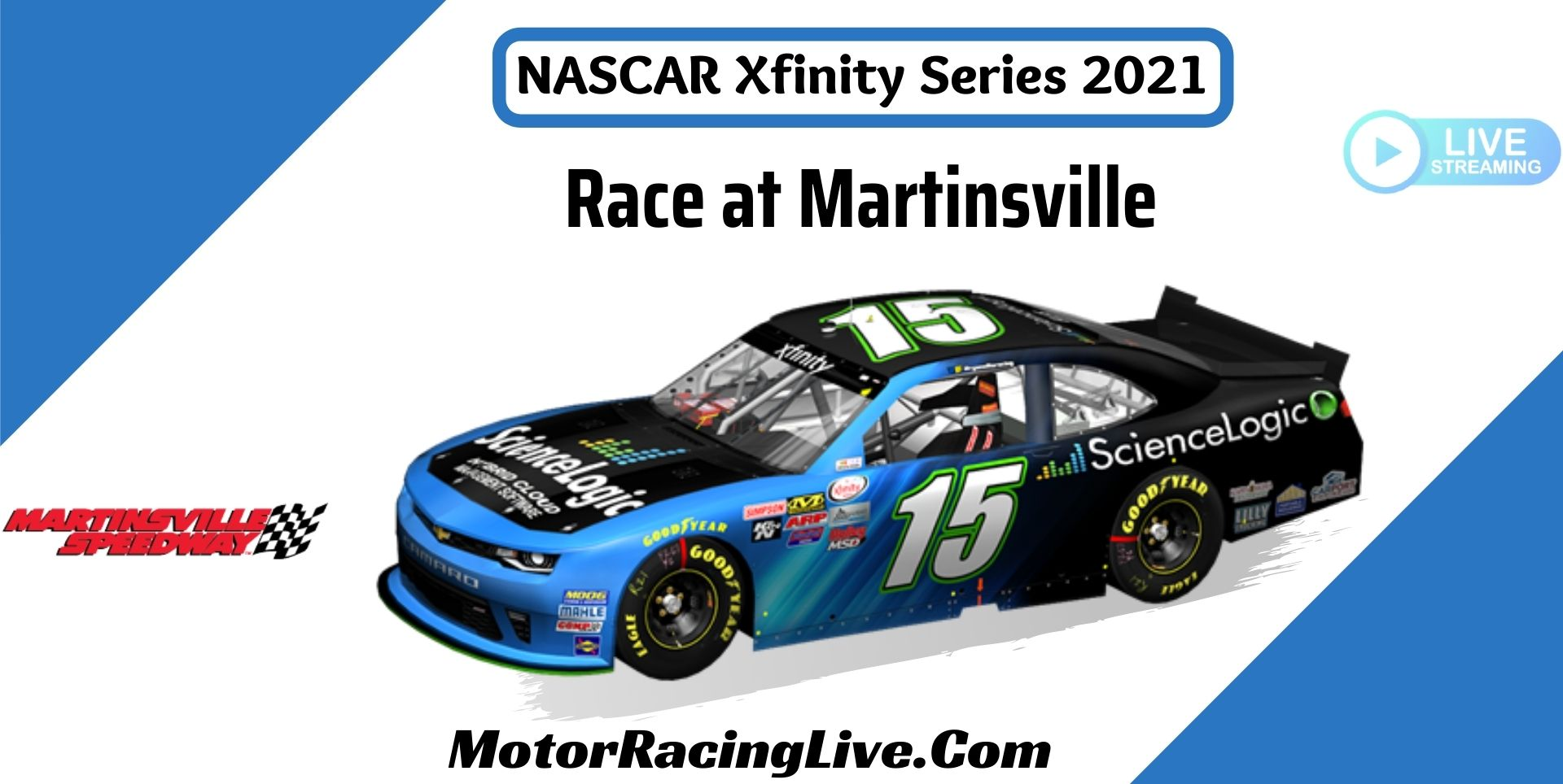 NASCAR Xfinity Race At Martinsville 2021 Live Stream