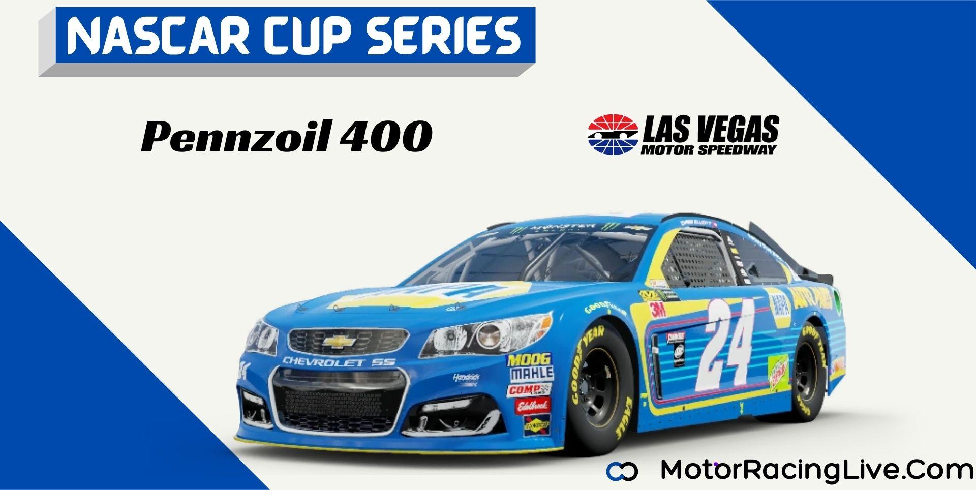 Pennzoil 400 Nascar Cup 2021 Live Stream