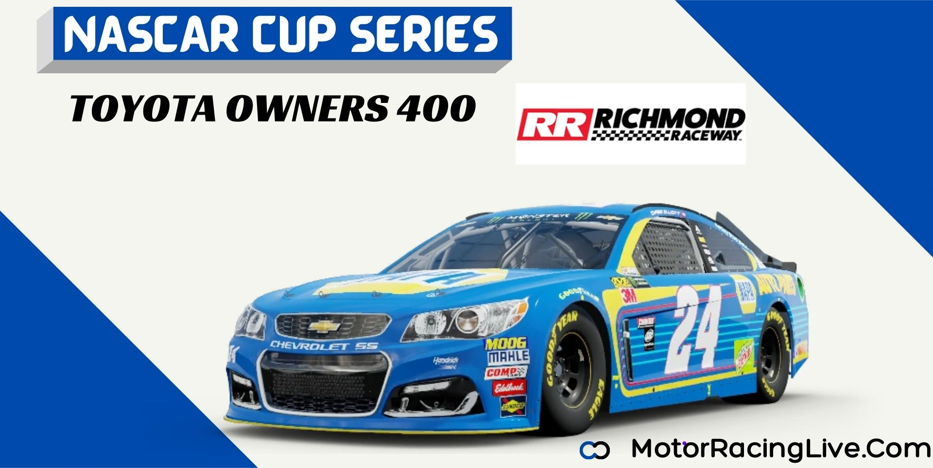 TOYOTA OWNERS 400 Nascar Cup 2021 Live Stream