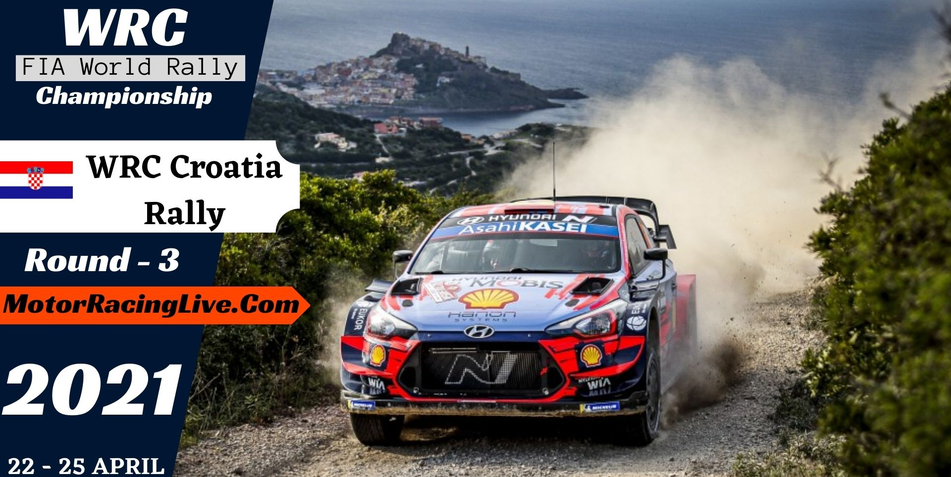 WRC Croatia Rally Round 3 Live Stream 2021