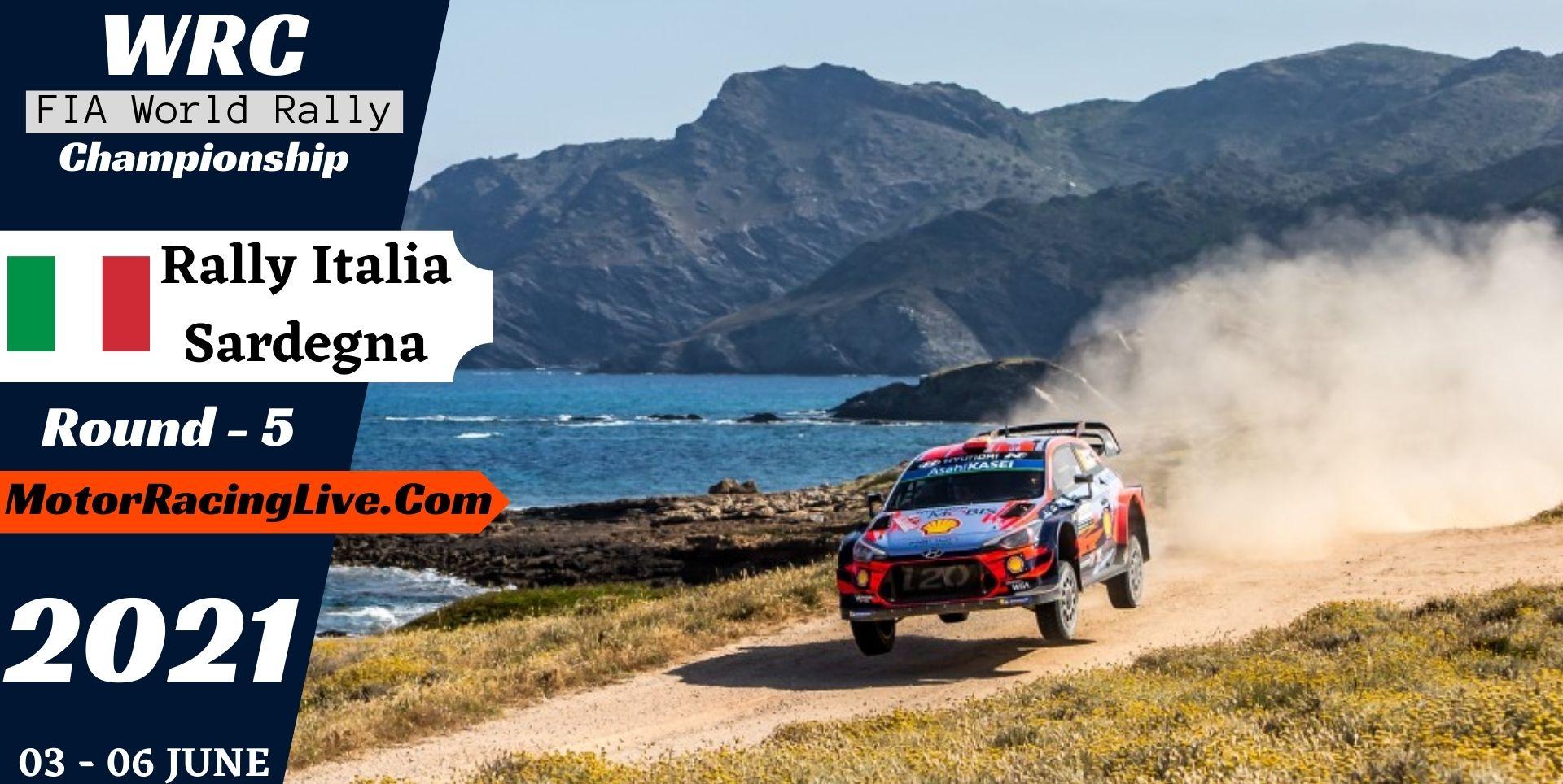 WRC Rally Italia Sardegna Round 5 Live Stream 2021