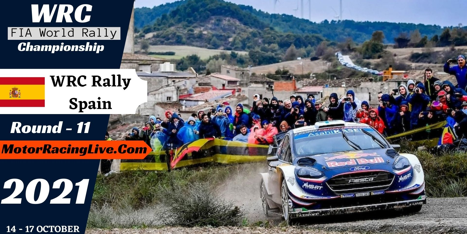 WRC Rally Spain Round 11 Live Stream 2021