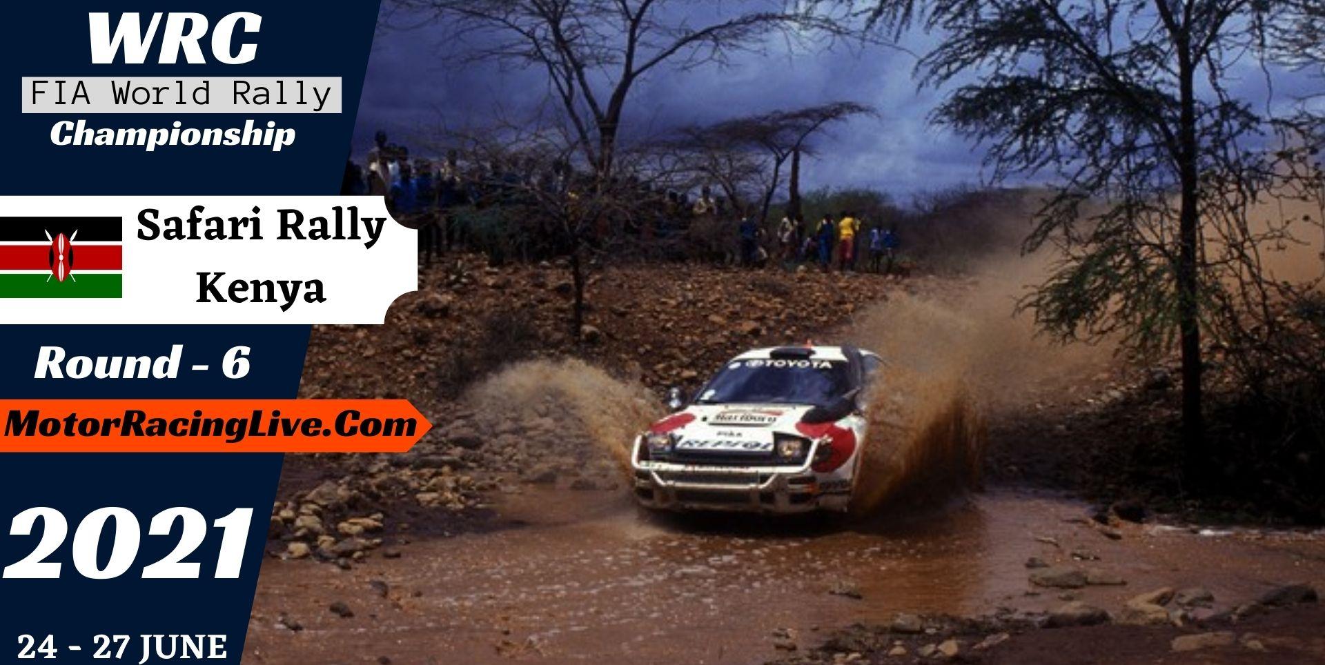 WRC Safari Rally Kenya Round 6 Live Stream 2021