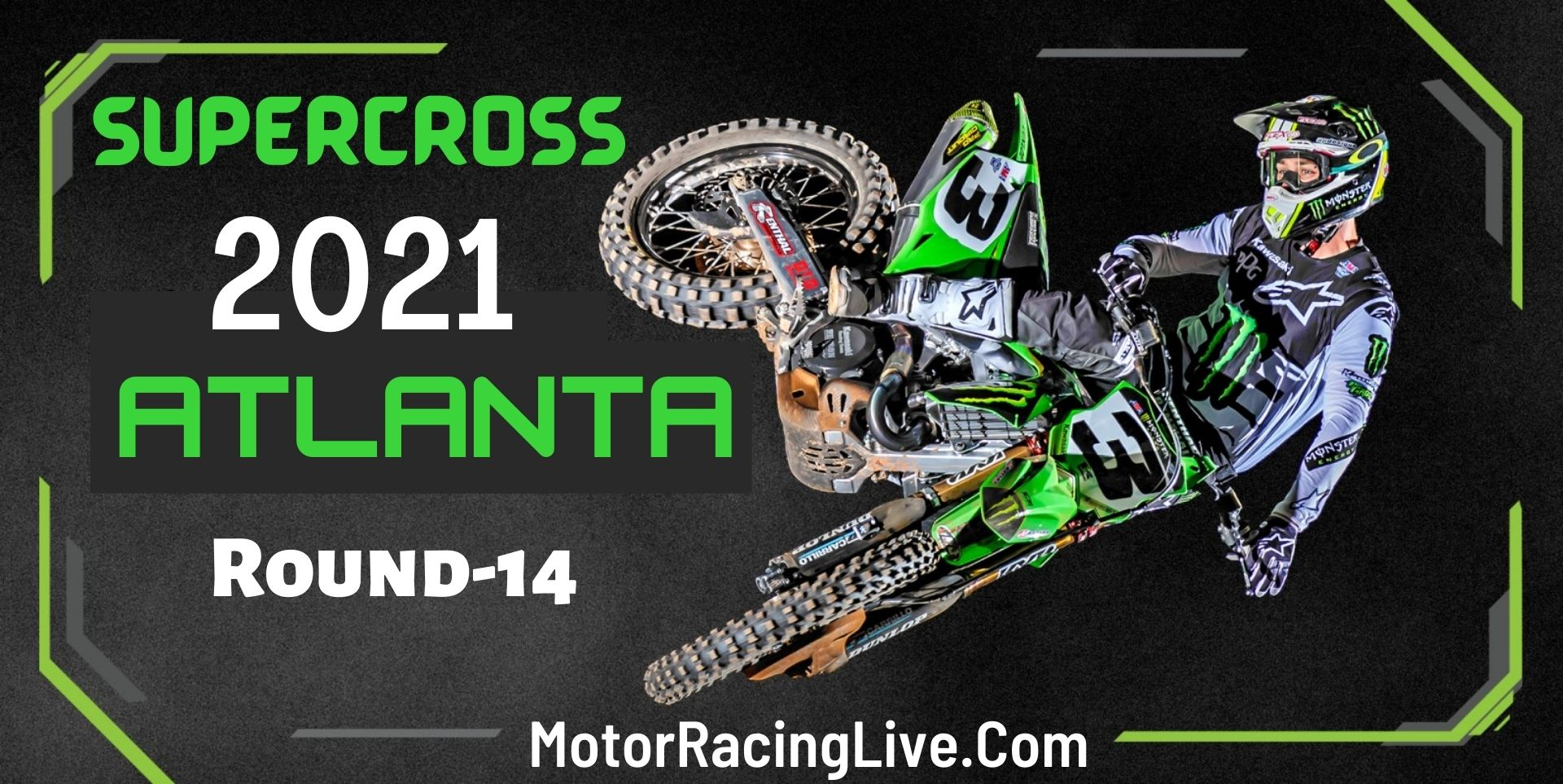 Supercross Atlanta Rd 14 Live 13-Apr 2021
