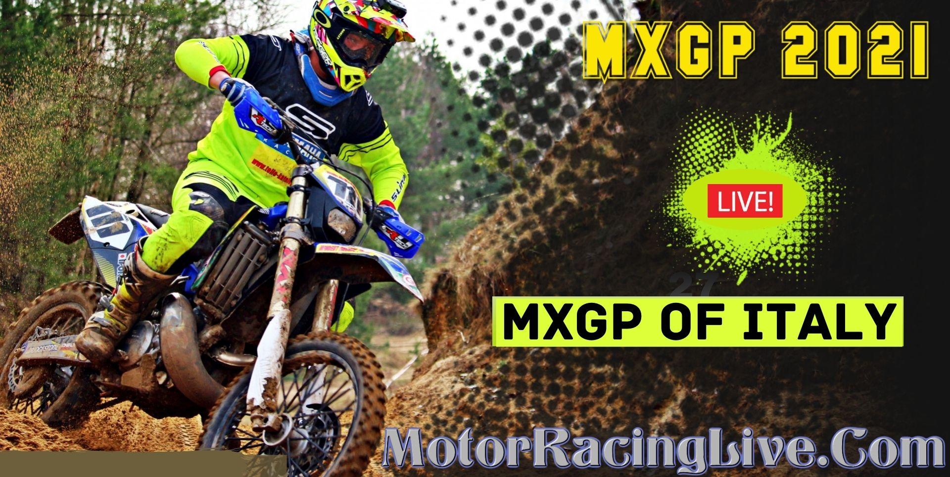 MXGP OF ITALY 2021 Live Stream