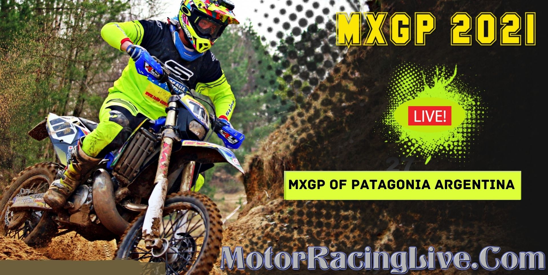 MXGP OF PATAGONIA ARGENTINA 2021 Live Stream