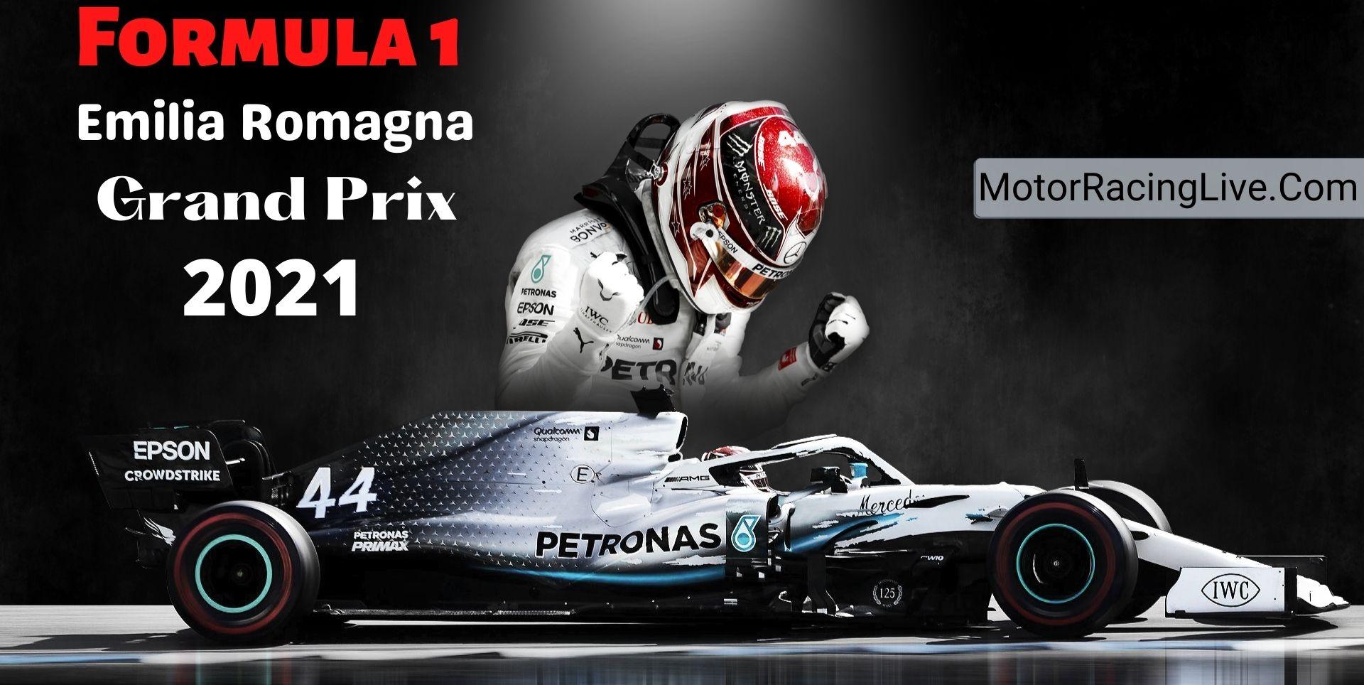 Emilia Romagna F1 Grand Prix Live 2021 | Full Race Replay