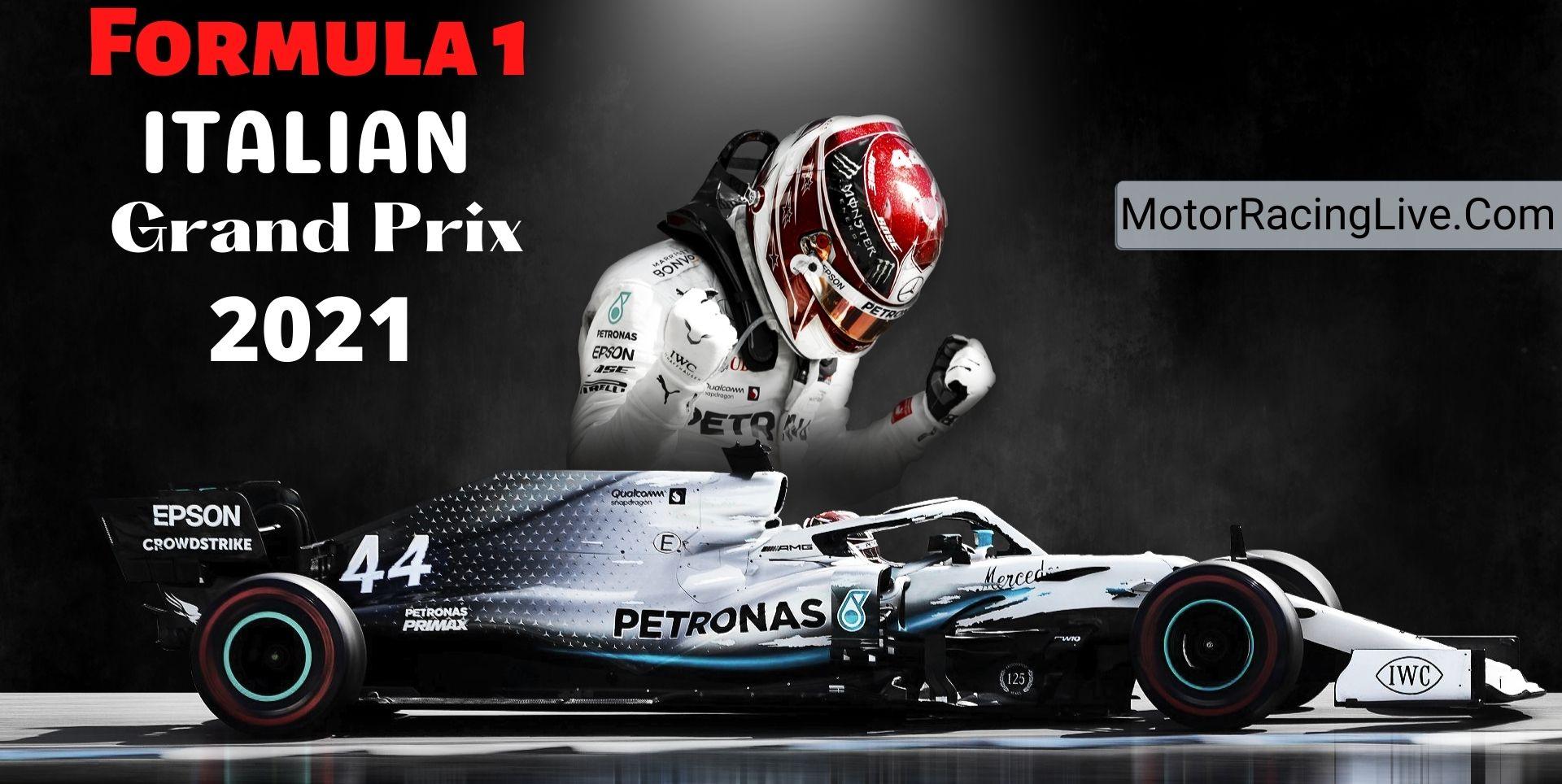 Italian F1 Grand Prix Live Streaming 2021   Full Race Replay