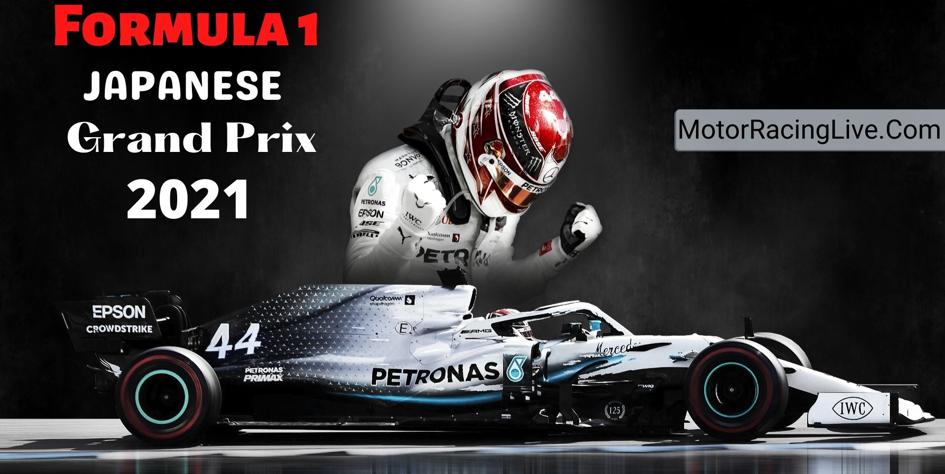 Japanese F1 Grand Prix Live Streaming 2021   Full Race Replay