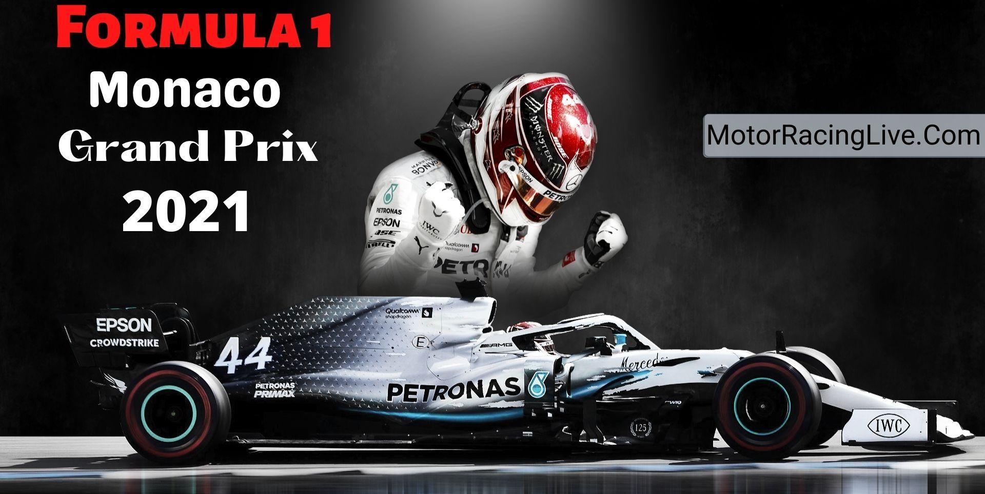 Monaco F1 Grand Prix Live Streaming 2021 | Full Race Replay