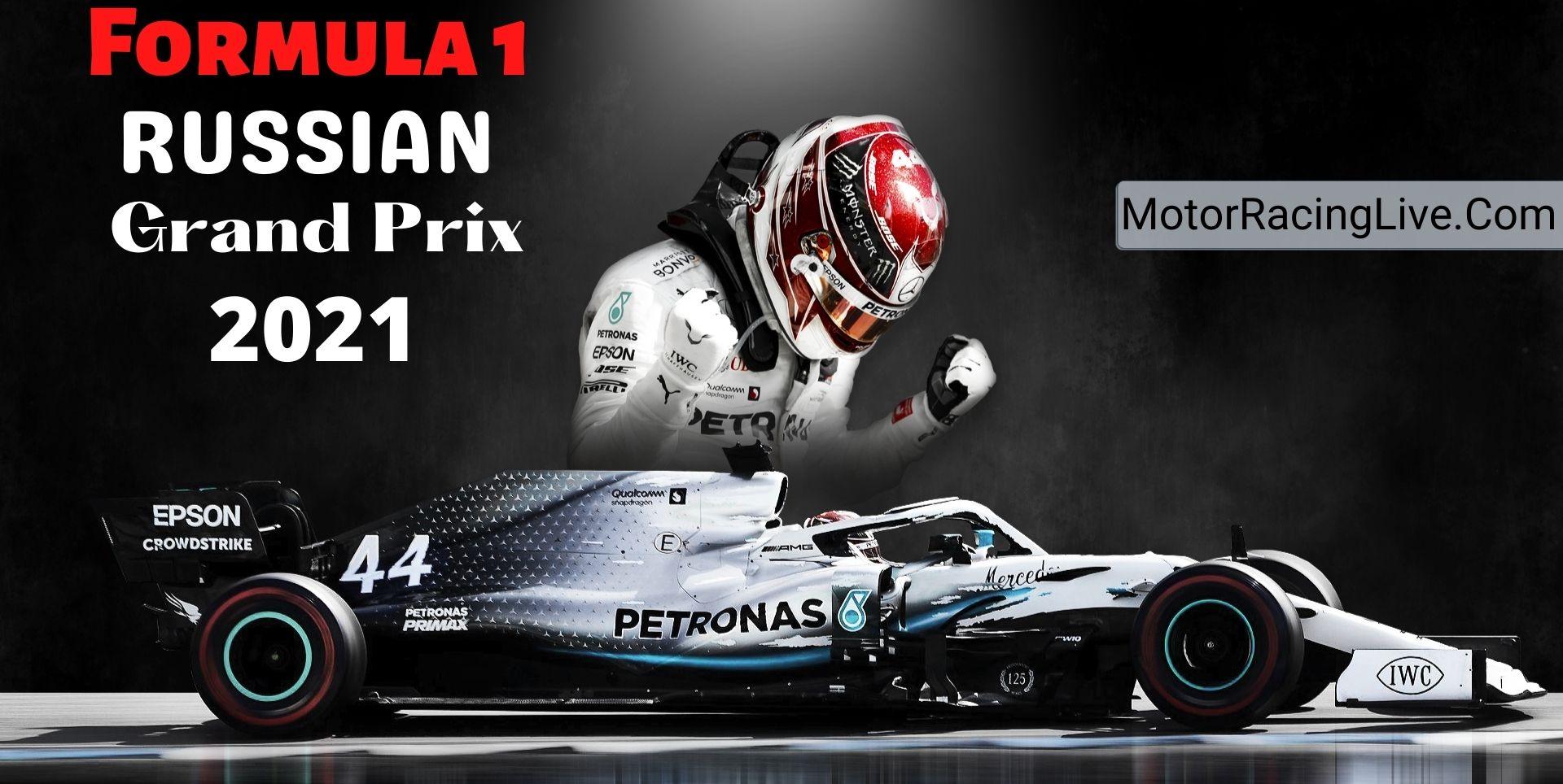 Russian F1 Grand Prix Live Streaming 2021   Full Race Replay