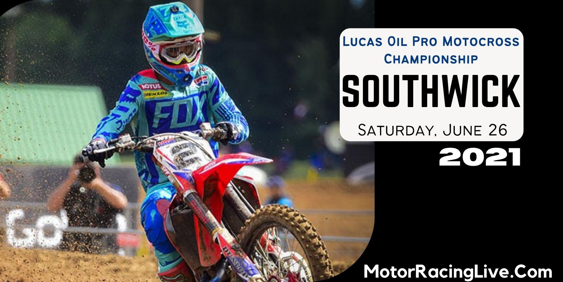 Southwick Live Streaming 2021 | Motocross