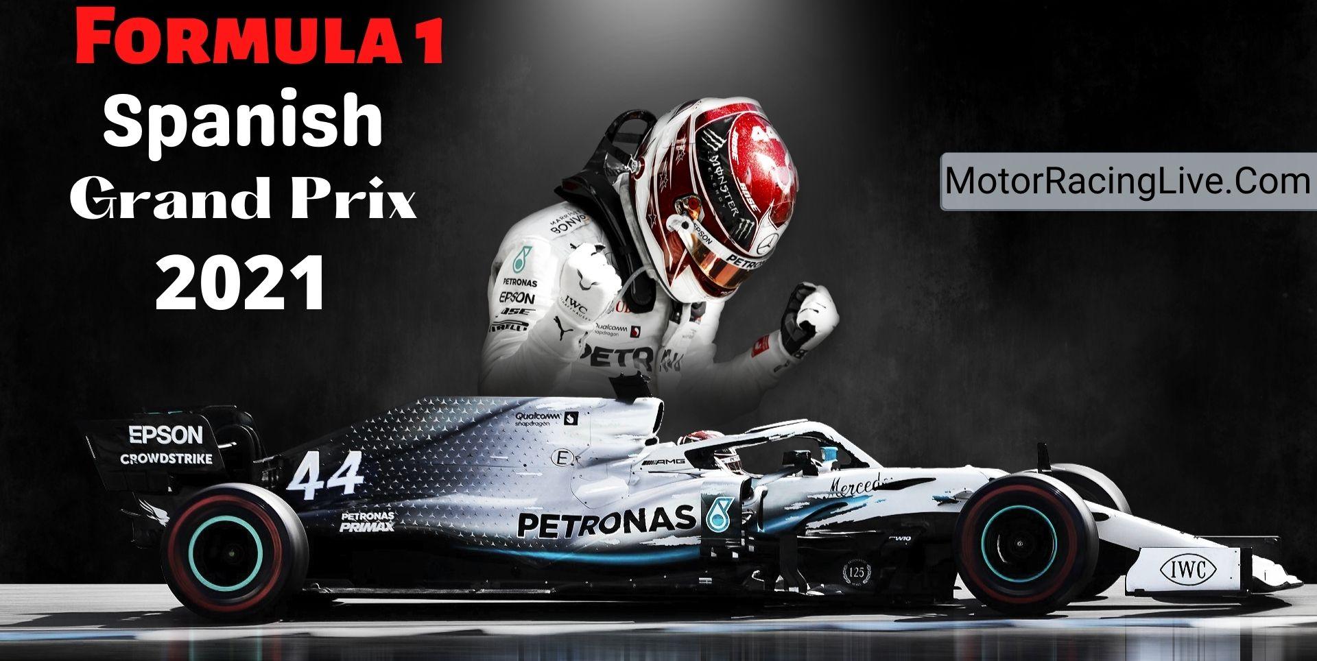 Spanish F1 Grand Prix Live Streaming 2021 | Full Race Replay
