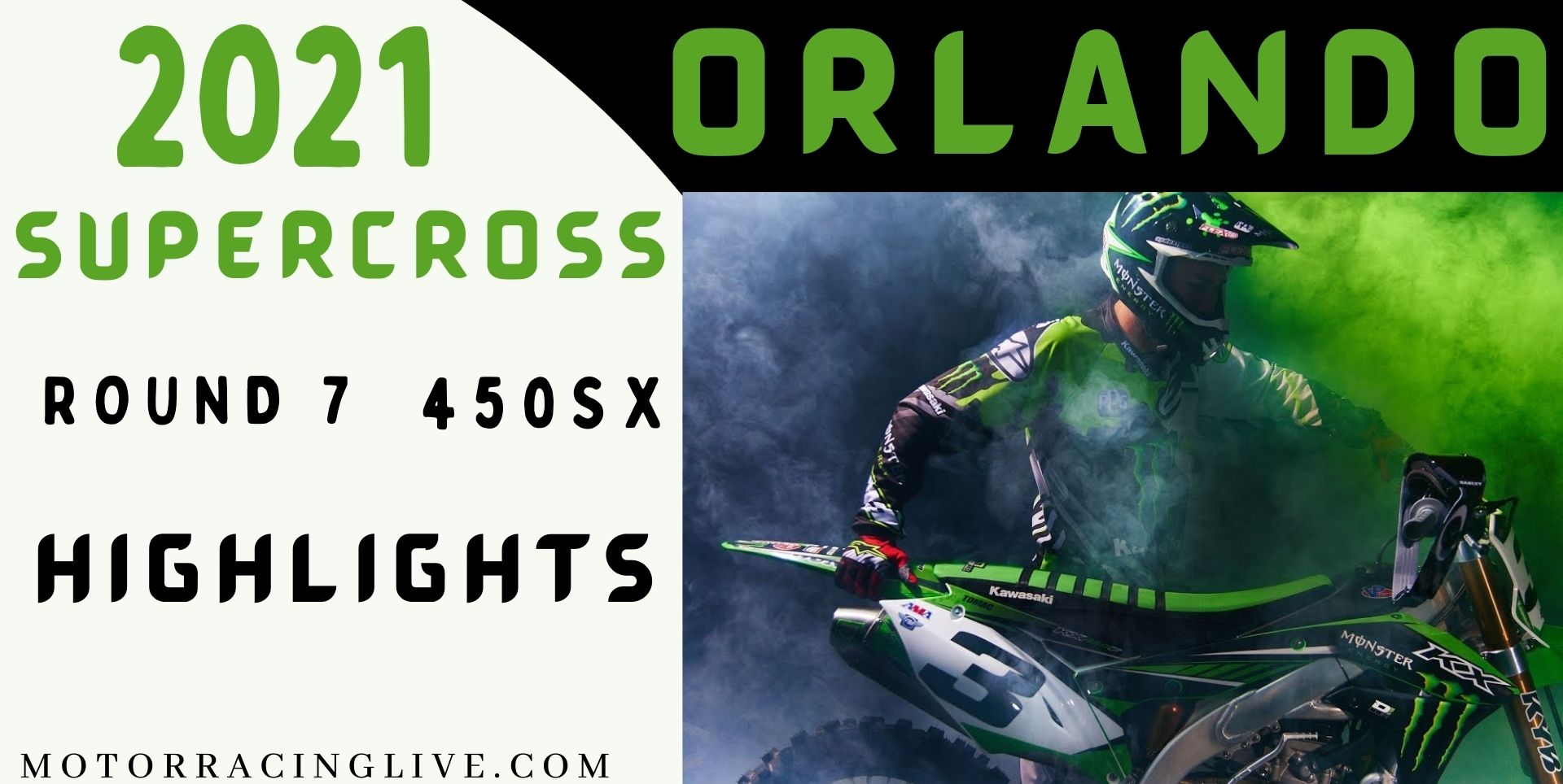 Orlando Round 7 450SX Highlights 2021 Supercross