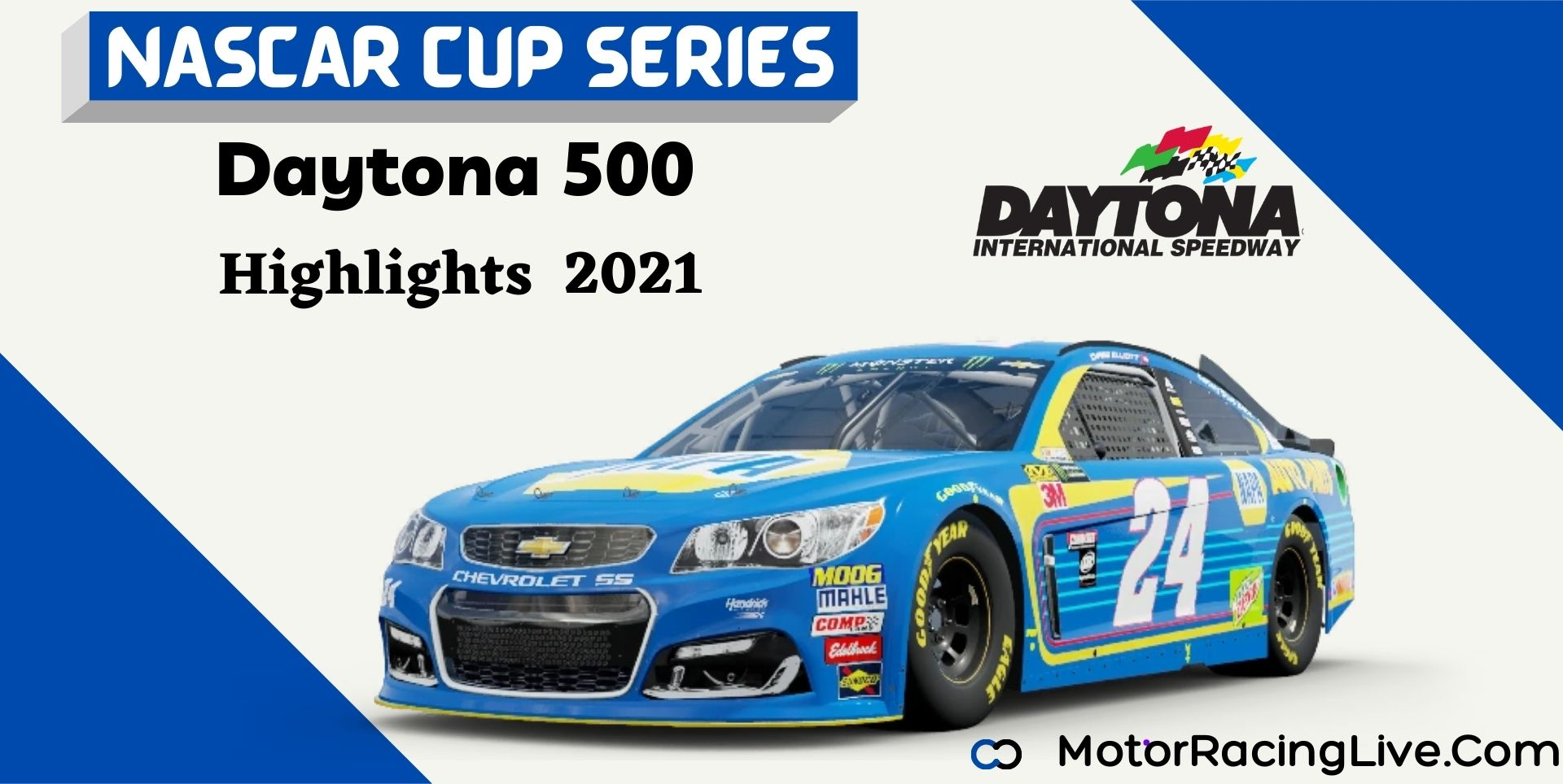 Daytona 500 Highlights 2021 NASCAR Cup Series