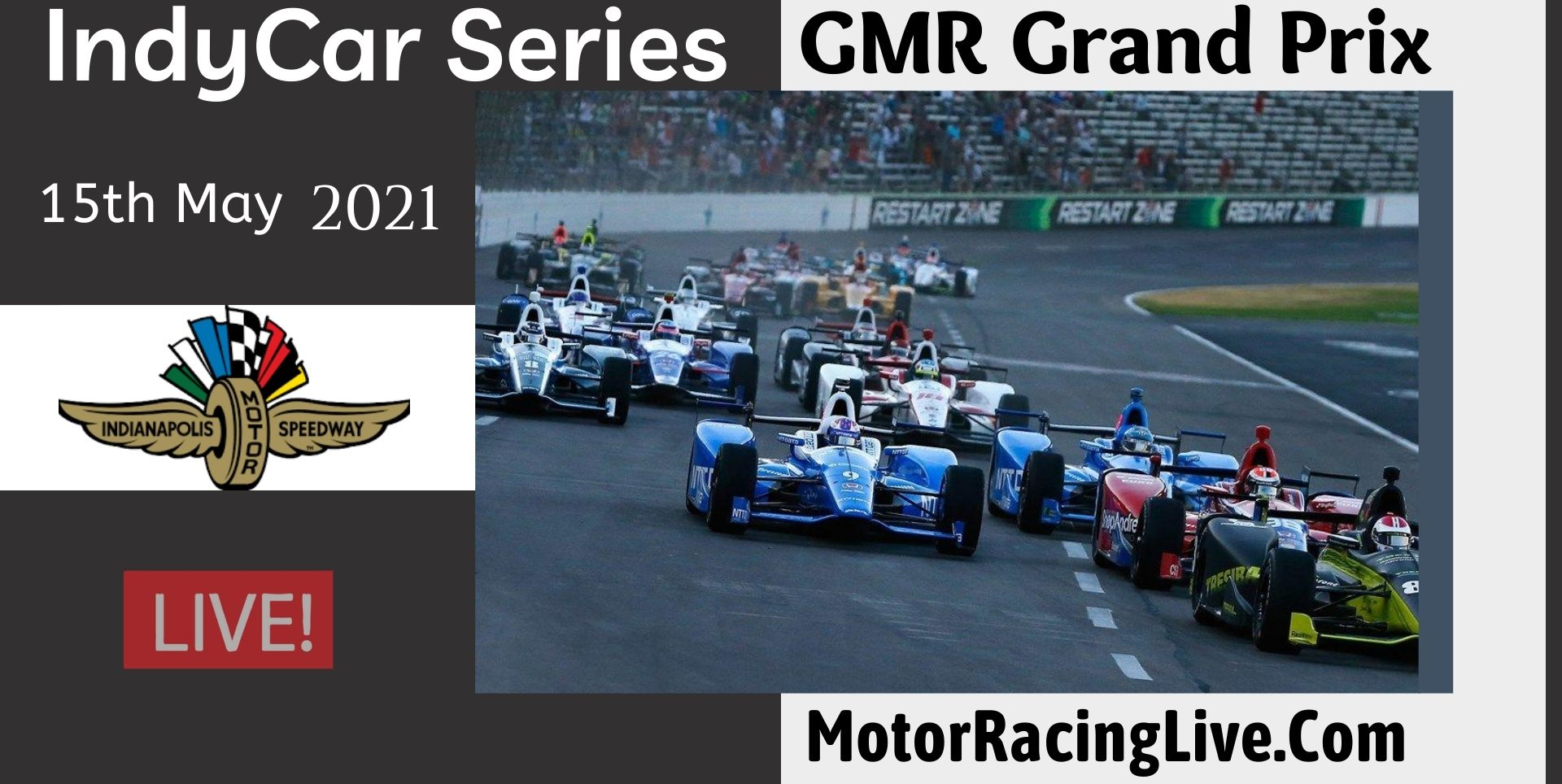GMR Grand Prix Live Stream 2021 | Indycar