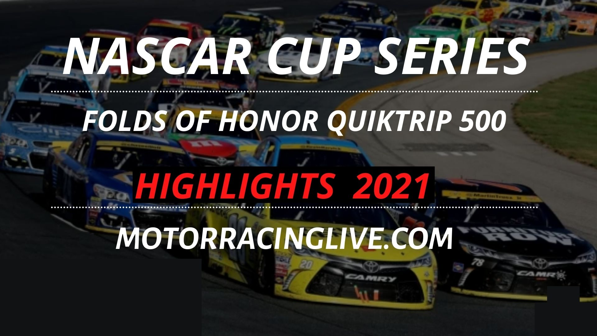 Folds Of Honor Quiktrip 500 Highlights 2021 Nascar Cup