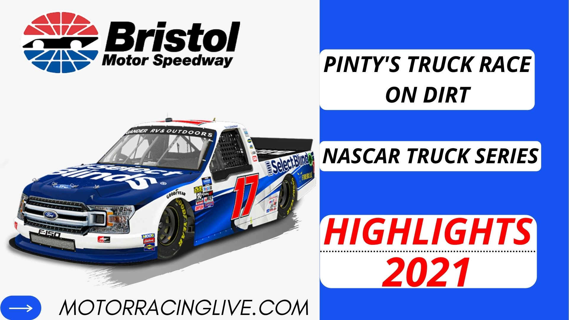 Pintys Truck Race On Dirt Highlights 2021 NASCAR Truck