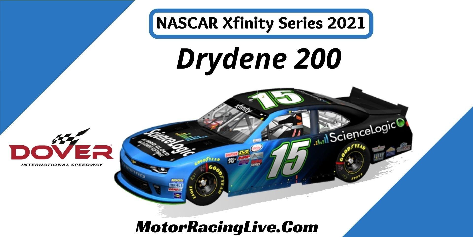 Drydene 200 Nascar Xfinity Series 2021 Live Stream
