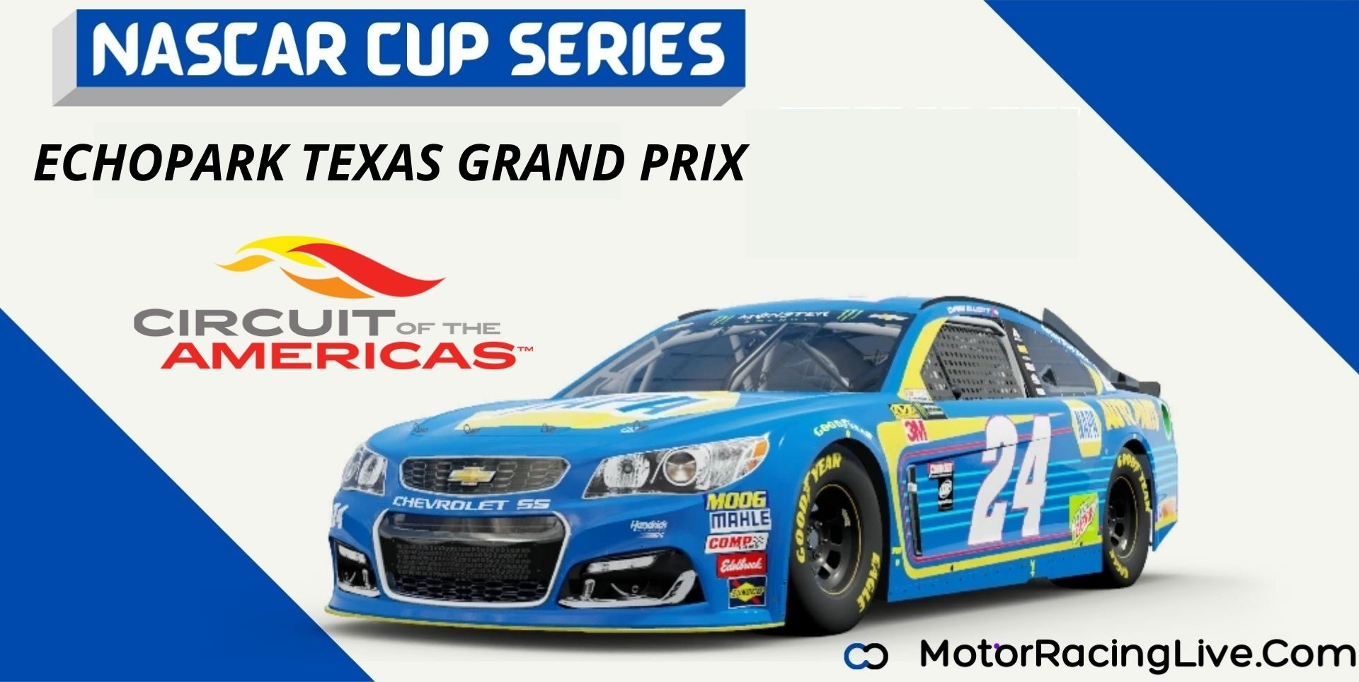 EchoPark Texas Grand Prix Nascar Cup Series 2021 Live