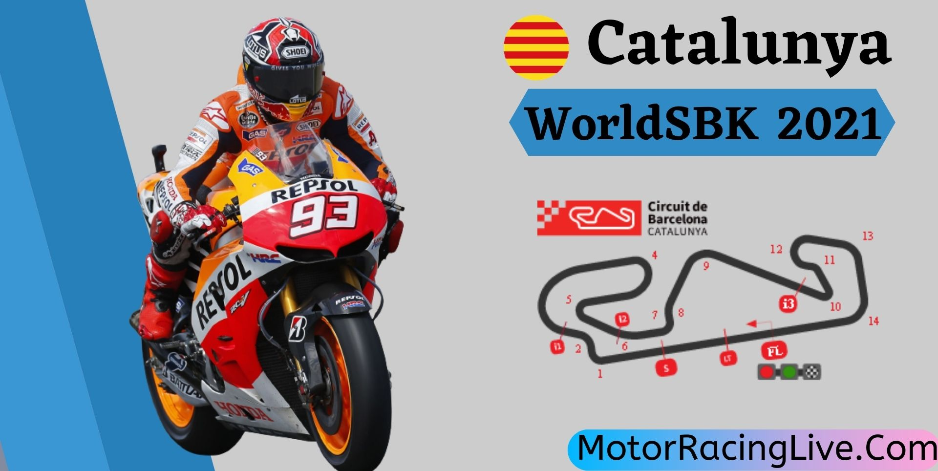 Catalunya WorldSBK Live Stream 2021   Round 8