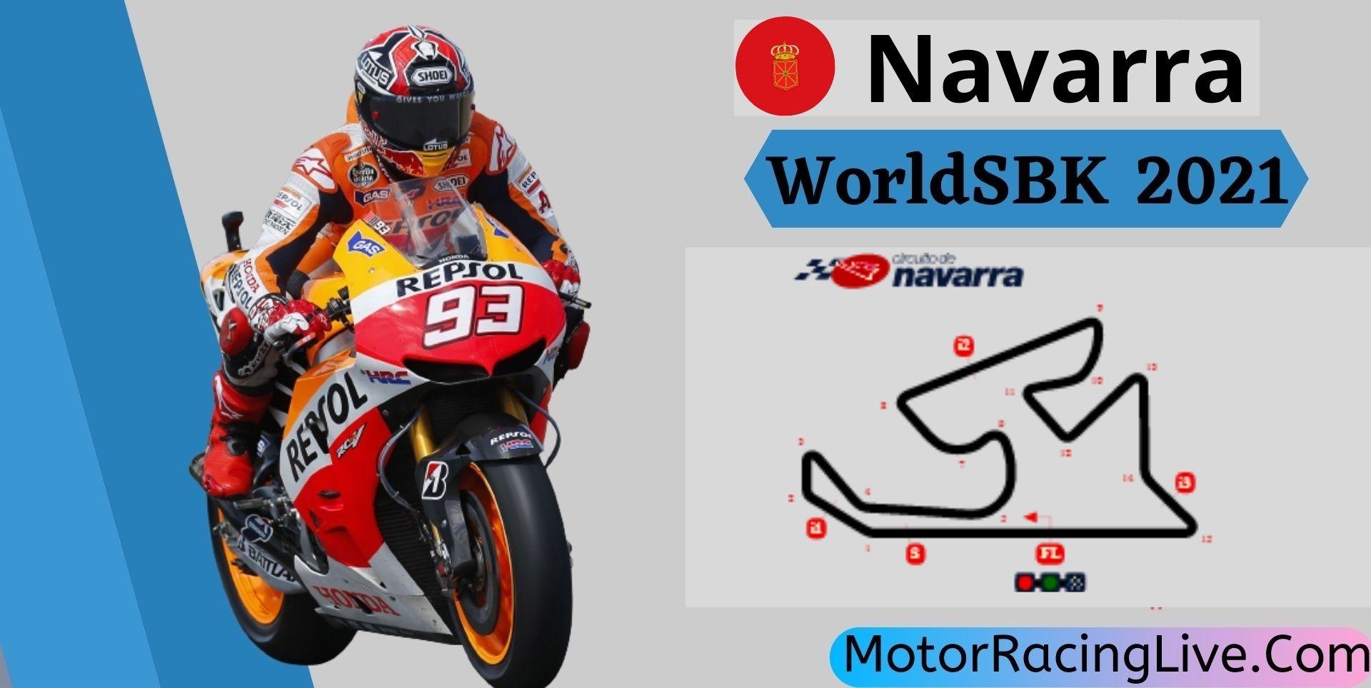 Navarra WorldSBK Live Stream 2021   Round 6