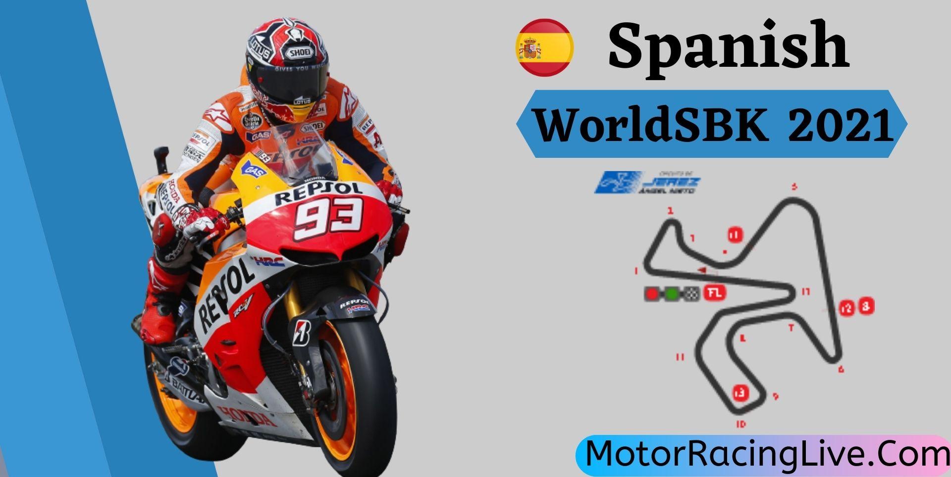 Spanish WorldSBK Live Stream 2021   Round 9