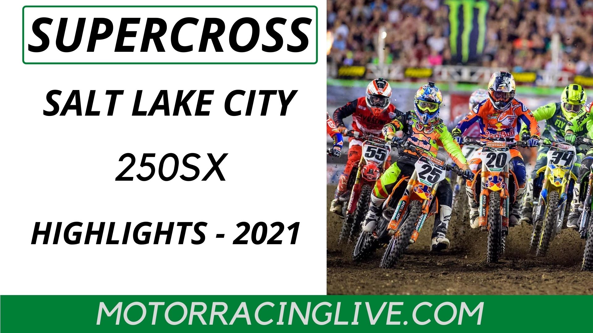 Salt Lake City Round 16 250SX Highlights 2021 Supercross