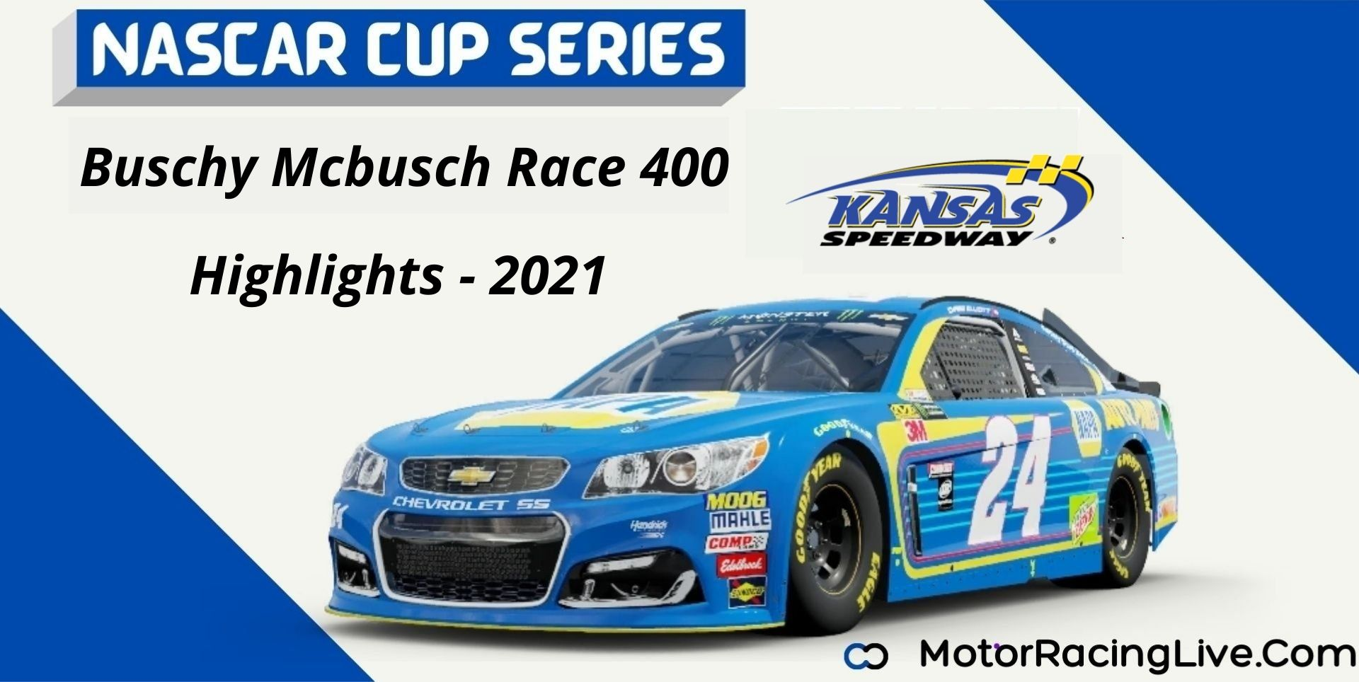 Buschy Mcbusch Race 400 Highlights 2021 NASCAR Cup Series